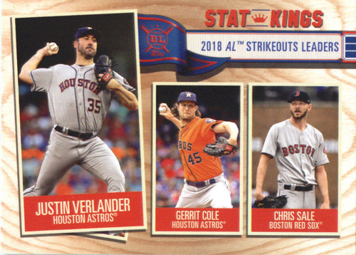 Photo of 2019 Topps Big League #367 Chris Sale/Gerrit Cole/Justin Verlander