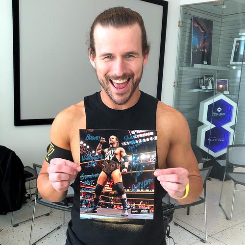 Photo of Adam Cole SIGNED WrestleMania 36 Exclusive Photo (#1 of 36)