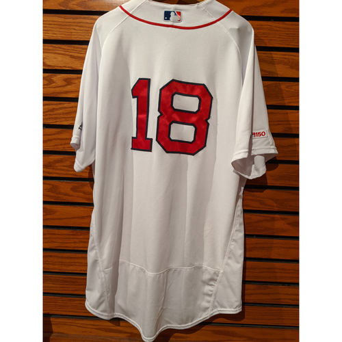 Photo of Mitch Moreland Team Issued Home White Jersey