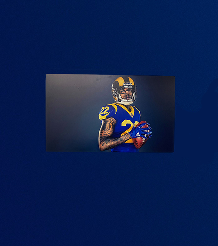 Photo of Marcus Peters 40x24 Metal Canvas