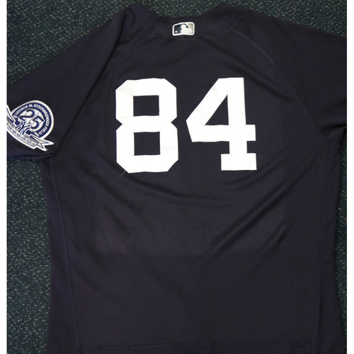 Photo of 2020 Game-Used Spring Training Jersey - Albert Abreu #84 - Size 46