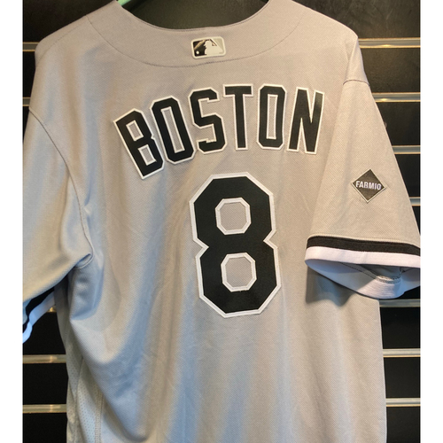 Photo of Daryl Boston Team Issued 2020 Grey Road Jersey - Set 2