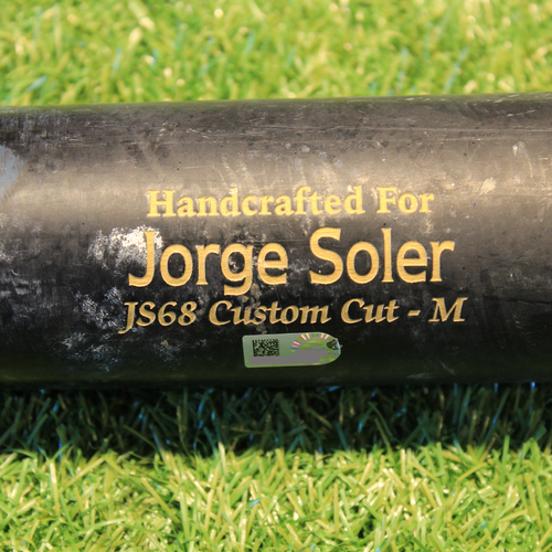 Photo of Team-Issued Broken Bat: Jorge Soler #12