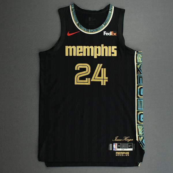 Image of Dillon Brooks - Memphis Grizzlies - Game-Worn City Edition Jersey - 2020-21 NBA Season