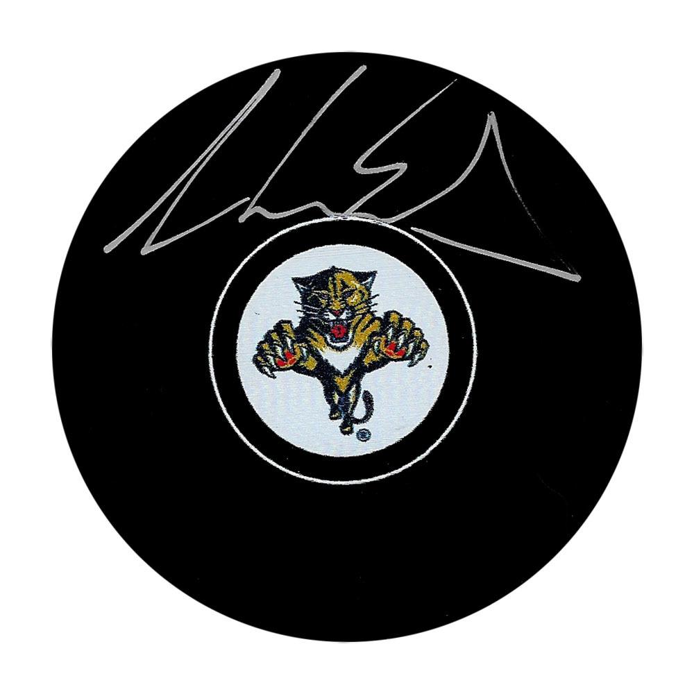 Aaron Ekblad Autographed Florida Panthers Puck