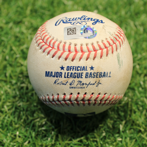 Photo of Game-Used Baseball: Tim Anderson 122nd Career Double (CWS@KC 5/7/21)