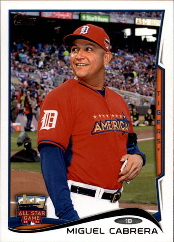 Photo of 2014 Topps Update #US53 Miguel Cabrera
