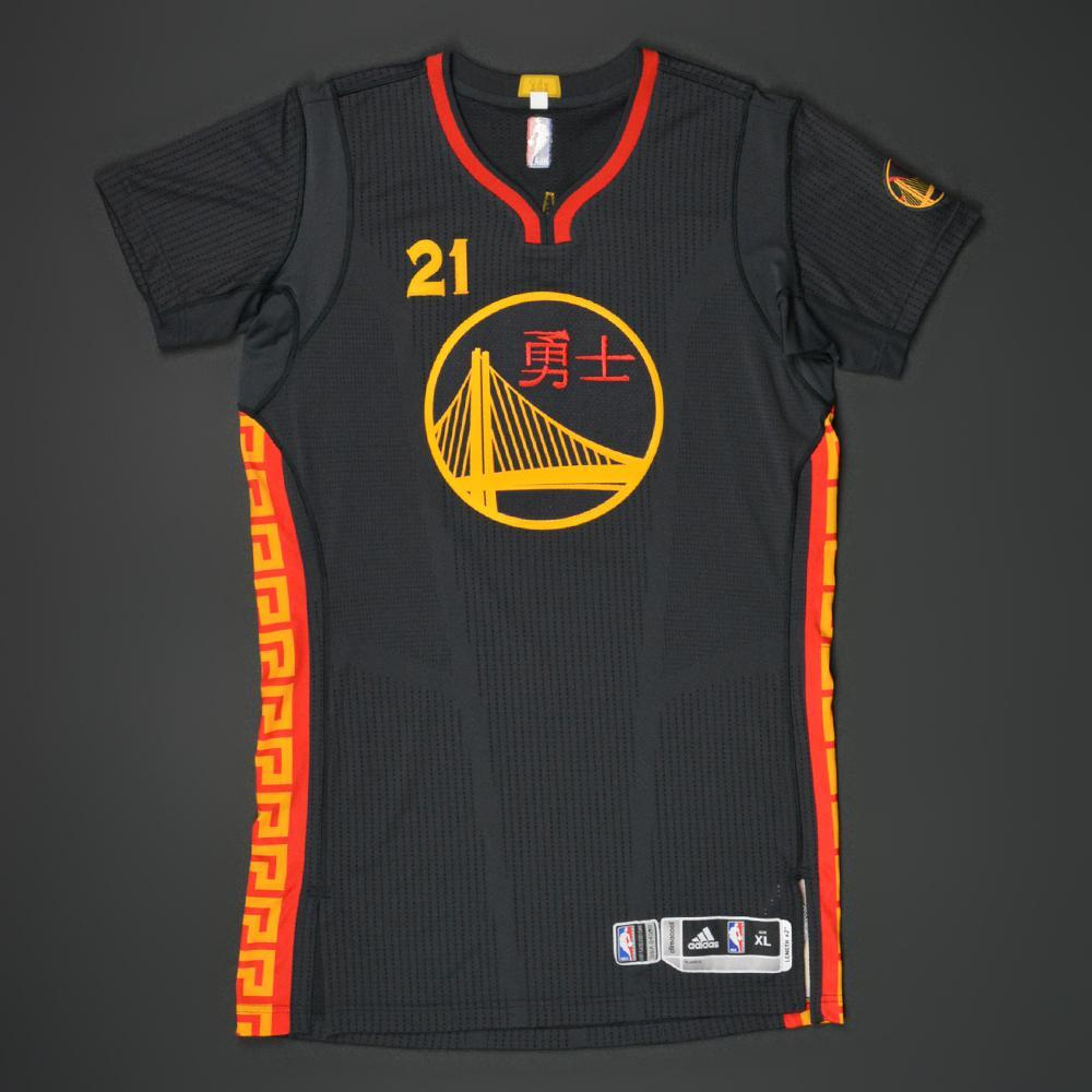 Warriors Year By Year: Game-Worn 'Chinese New