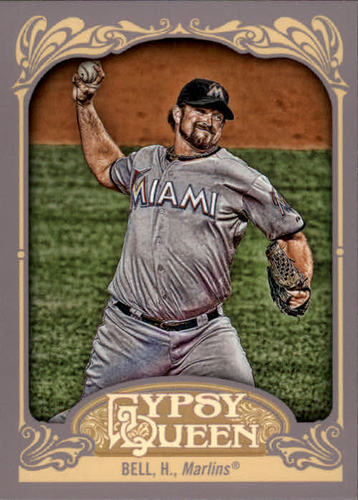 Photo of 2012 Topps Gypsy Queen #183 Heath Bell