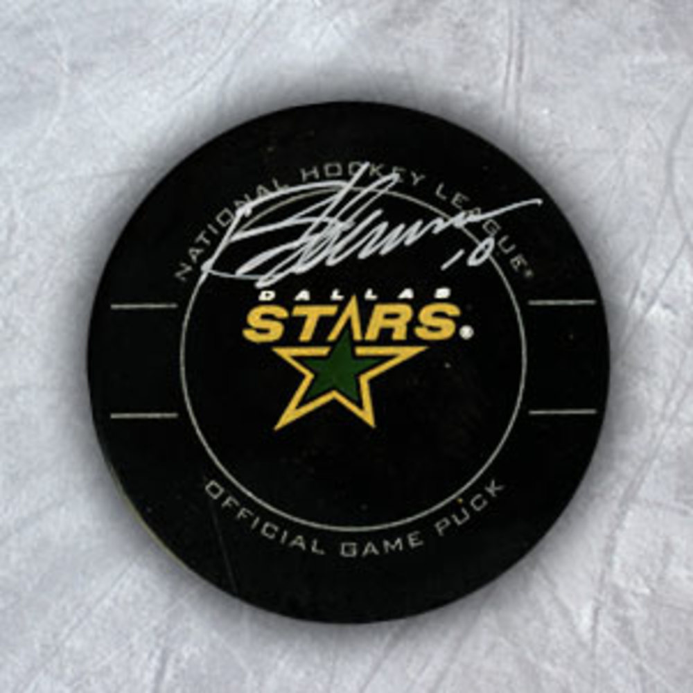 Brenden Morrow Dallas Stars Autographed Official Game Puck