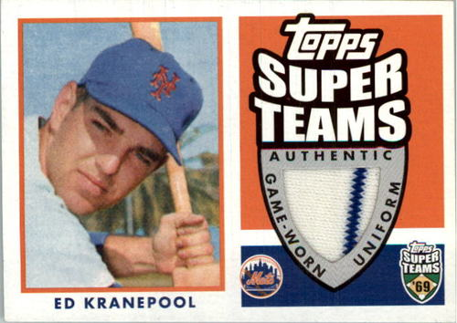 Photo of 2002 Topps Super Teams Relics #STREKU Ed Kranepool Uni 2