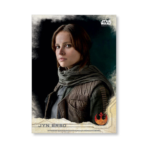 Jyn Erso 2016 Star Wars Rogue One Series One Base Poster - # to 99
