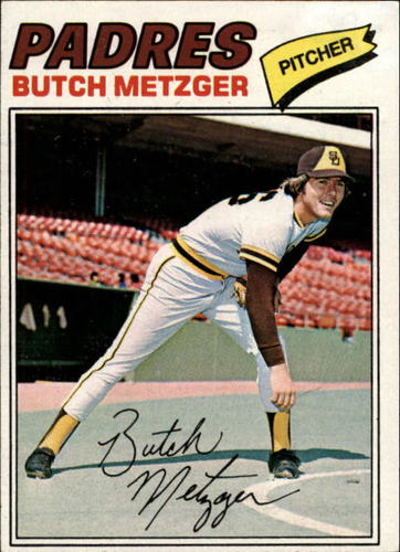 Photo of 1977 Topps #215 Butch Metzger