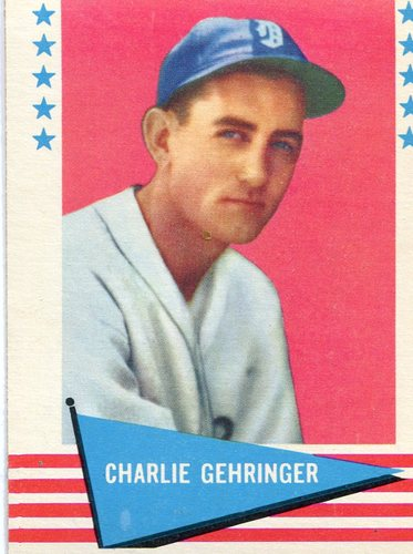 Photo of 1961 Fleer #32 Charley Gehringer -- Hall of Fame Class of 1949