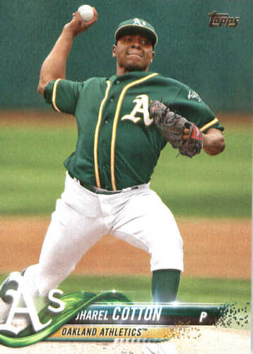 Photo of 2018 Topps #106 Jharel Cotton
