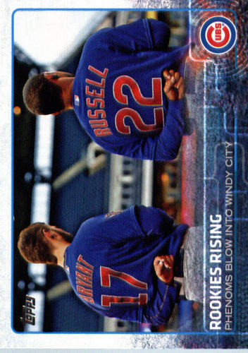 Photo of 2015 Topps Update #US79 Rookies Rising/Kris Bryant/Addison Russell