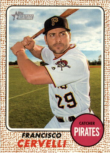 Photo of 2017 Topps Heritage #13 Francisco Cervelli