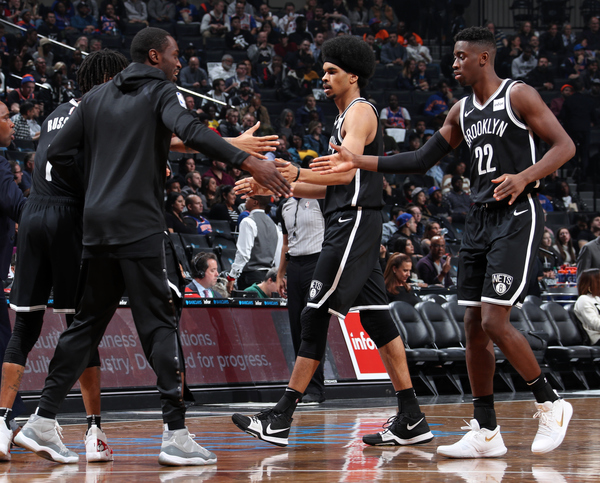 Clickable image to visit Brooklyn Nets vs. Milwaukee Bucks Experience