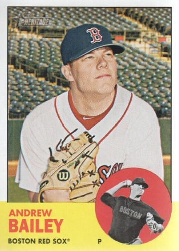 Photo of 2012 Topps Heritage #368 Andrew Bailey