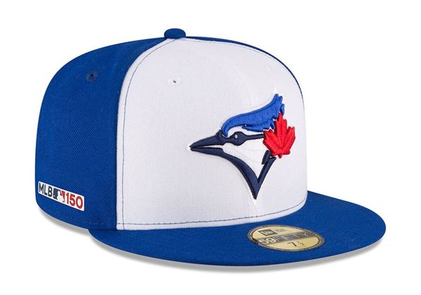 Toronto Blue Jays Alternate On-Field MLB 150 Fitted Cap by New Era