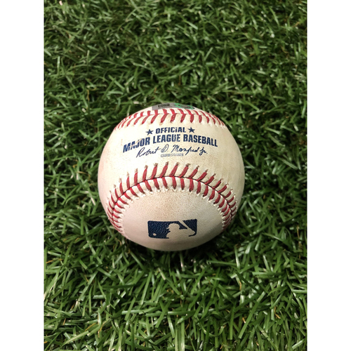 Game Used Baseball: Jalen Beeks strikes out Shohei Ohtani - June 16, 2019 v LAA