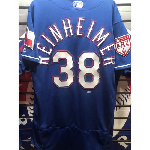 Photo of Jack Reinheimer Team-Issued Spring Training Jersey
