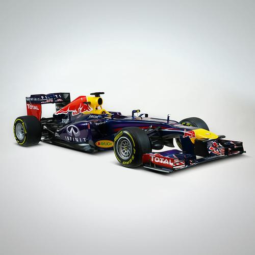 Photo of Sebastian Vettel 2013 1:4 Scale Model F1 Car - Red Bull Racing