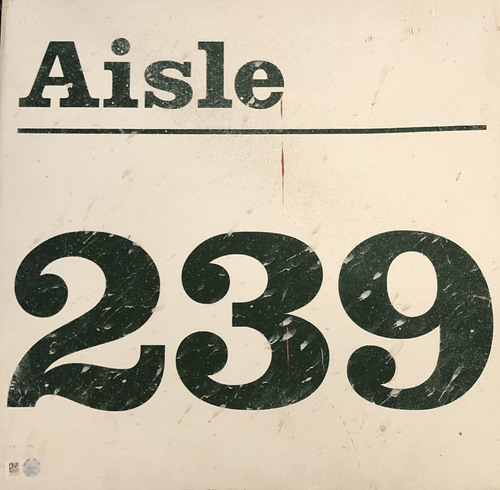 Photo of 12 Days of Auctions: Day 4 -- Wrigley Field Collection --  Aisle Marker 239