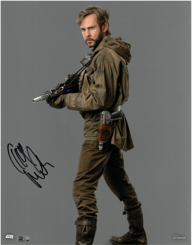 Dominic Monaghan As Beaumont Kin 11X14 AUTOGRAPHED IN 'Black' INK PHOTO