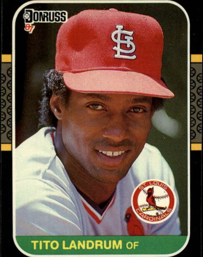Photo of 1987 Donruss #386 Tito Landrum