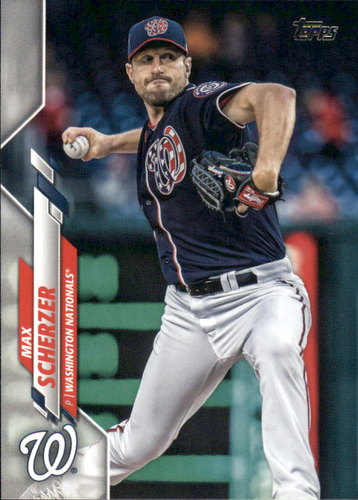 Photo of 2020 Topps #180 Max Scherzer