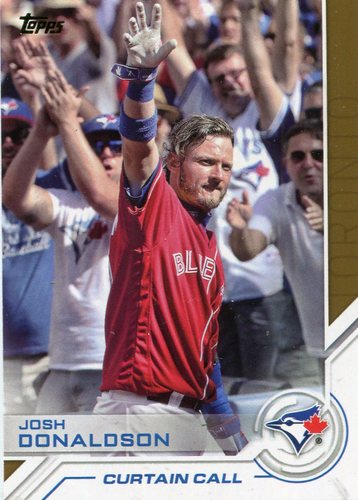 Photo of 2017 Topps Salute #S129 Josh Donaldson