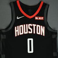Russell Westbrook - Houston Rockets - Game-Worn Statement Edition Jersey (1 of 2) - NBA Japan Games - 2019-20 NBA Season
