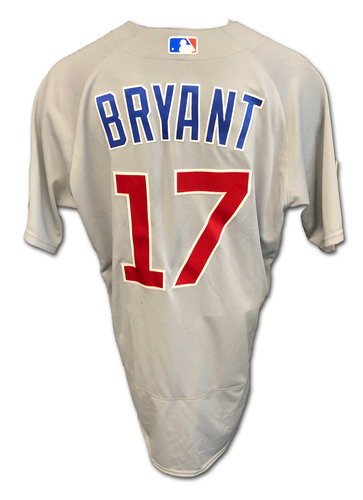 Photo of Kris Bryant Team-Issued Jersey -- 2020 Season -- Size 46T + .5S
