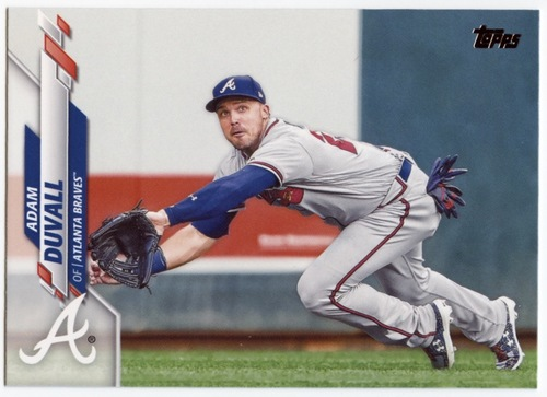 Photo of 2020 Topps #482 Adam Duvall