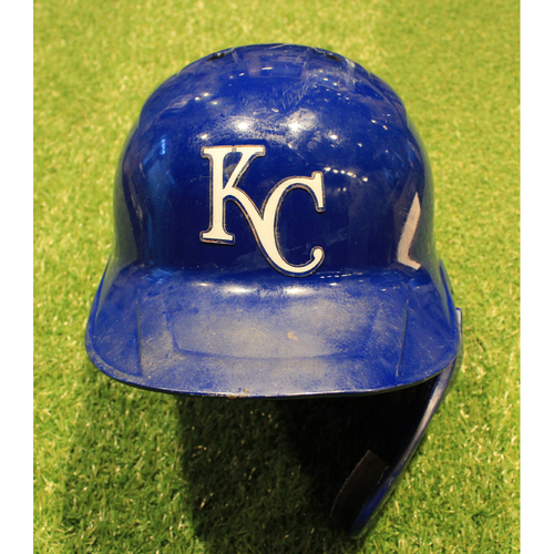 Photo of Game-Used Helmet: Salvador Perez #13 (DET @ KC 9/26/20)