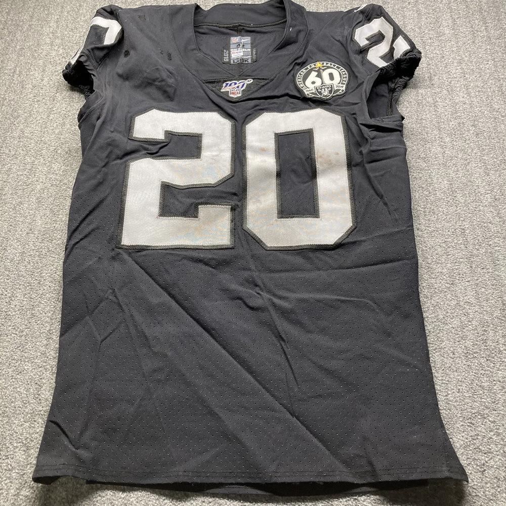 NFL Auction   London Games - Raiders D.J Swearinger Game Used ...