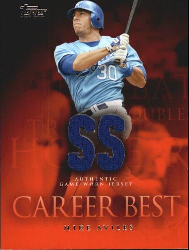 Photo of 2009 Topps Career Best Relics #MA Mike Aviles Jsy B1