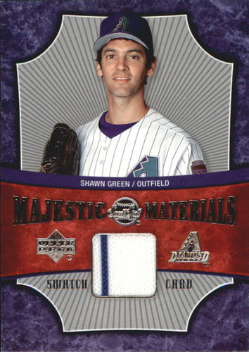 Photo of 2005 Sweet Spot Majestic Materials #SG Shawn Green