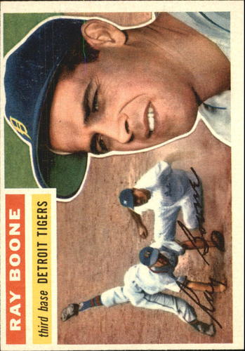 Photo of 1956 Topps #6 Ray Boone
