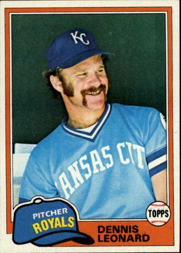 Photo of 1981 Topps #185 Dennis Leonard
