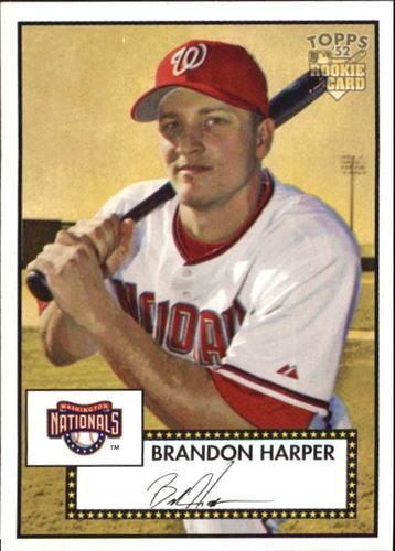 Photo of 2006 Topps 52 #209 Brandon Harper RC
