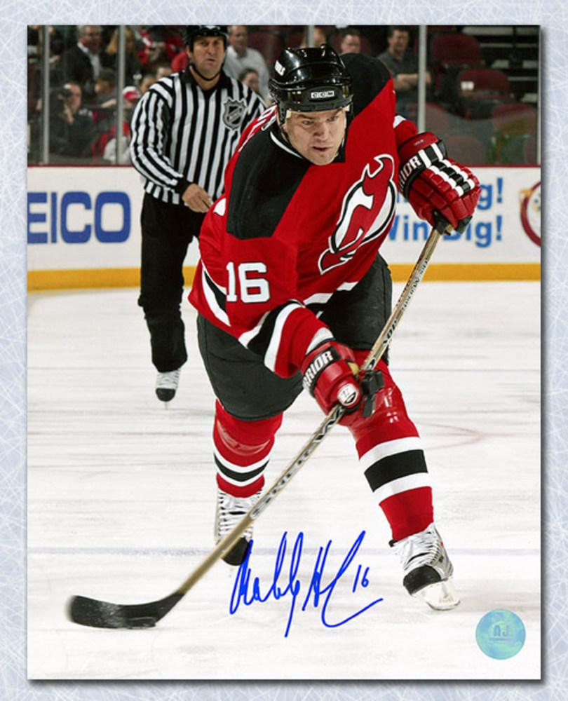 Bobby Holik New Jersey Devils Autographed Shooting 8x10 Photo