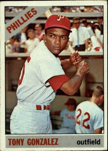 Photo of 1966 Topps #478 Tony Gonzalez