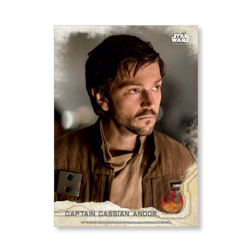 Captain Cassian Andor 2016 Star Wars Rogue One Series One Base Poster - # to 99