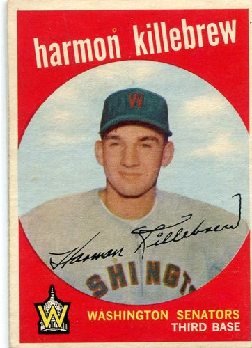 Photo of 1959 Topps #515 Harmon Killebrew -- Hall of Famer