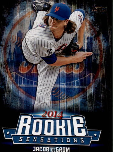 Photo of 2015 Topps Update Rookie Sensations #RS9 Jacob deGrom