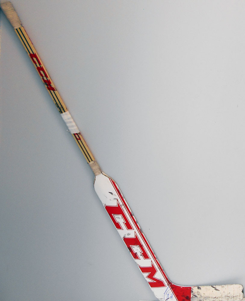 31 Carey Price Game Used Stick Autographed Montreal Canadiens