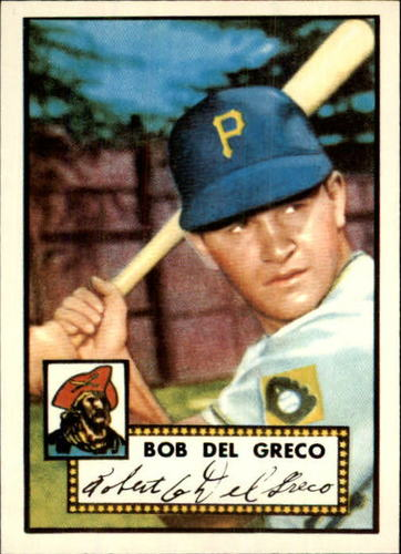 Photo of 1983 Topps 1952 Reprint #353 Bobby Del Greco
