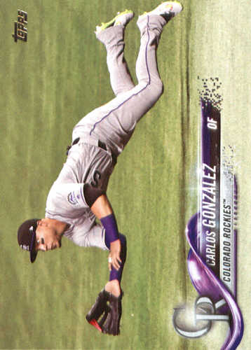 Photo of 2018 Topps #110 Carlos Gonzalez